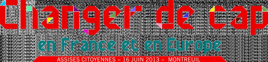 Assises citoyennes du 16 juin - Halle Dufriche à Montreuil